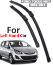 "FORD FOCUS MK2 2004-11 Front Windscreen 26"" 17"" Aero Wiper Blades Set (For Left Handed Drive)"