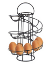 New Helter Skelter Spiral Egg Holder Swirl Storage