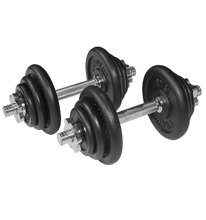 Dumbbell Set and Case